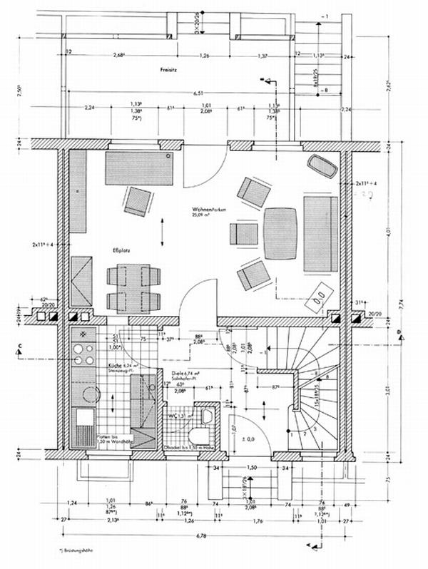 Plattegrond keuken maken for Huis inrichten op schaal