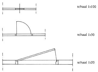 Bouwtechnisch tekenen tekentechnieken bk wiki for Spiltrap berekenen