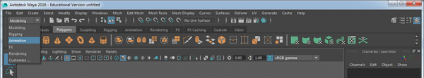 Maya Interface pulldown.png